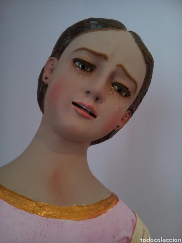 Arte: Virgen Dolorosa/ Soledad para vestir - Foto 2 - 113338408