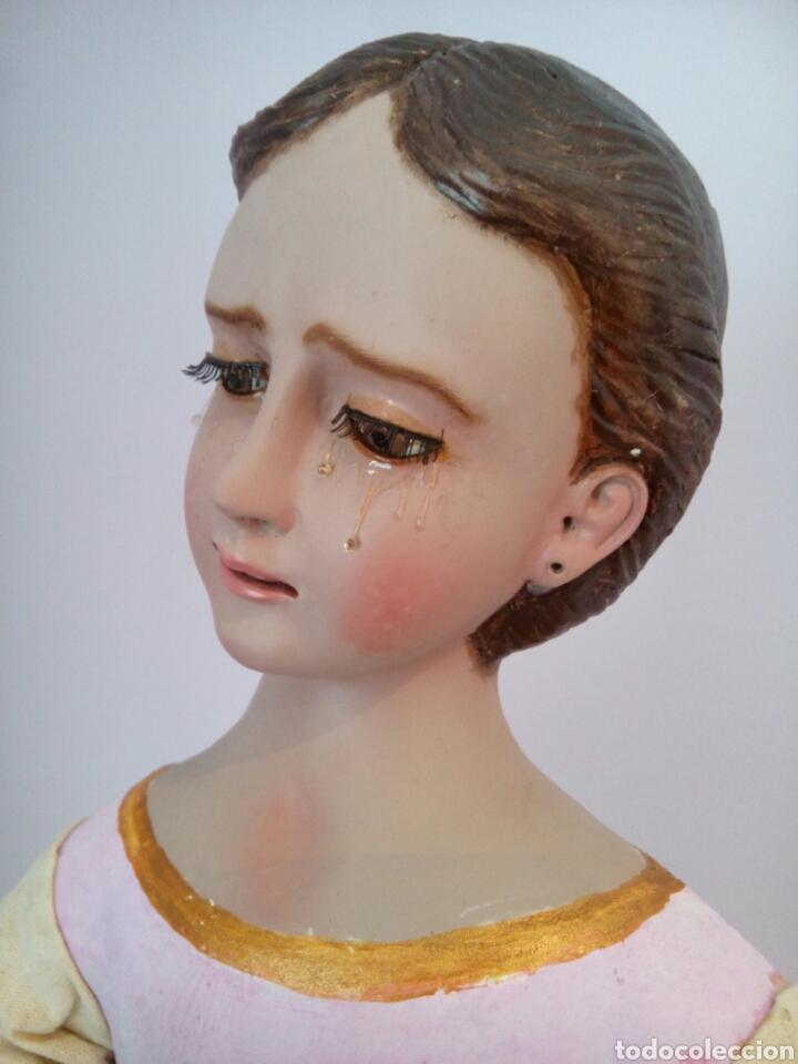 Arte: Virgen Dolorosa/ Soledad para vestir - Foto 4 - 113338408