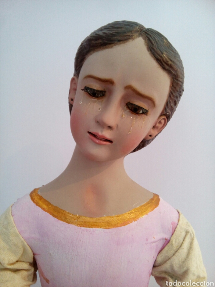 Arte: Virgen Dolorosa/ Soledad para vestir - Foto 5 - 113338408