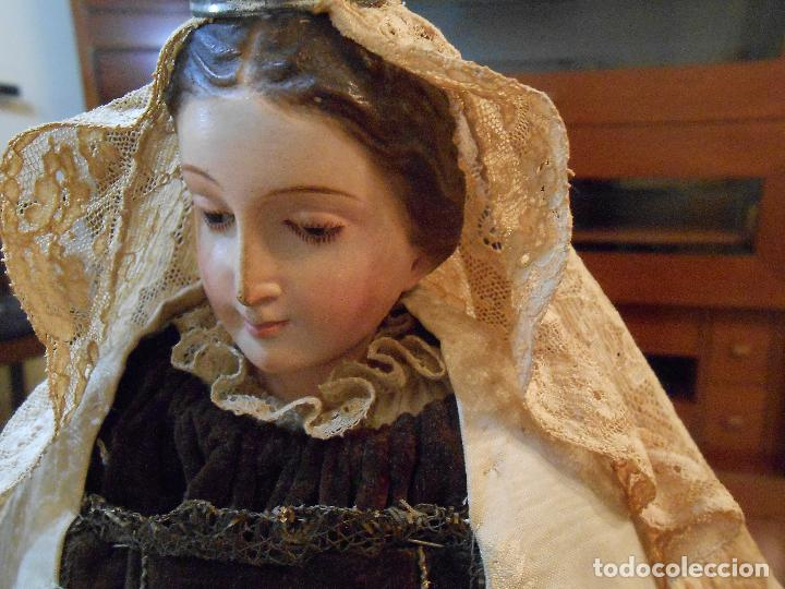 Arte: Virgen del Carmen con Niño Jesús de Cap i pota - Foto 17 - 113435547