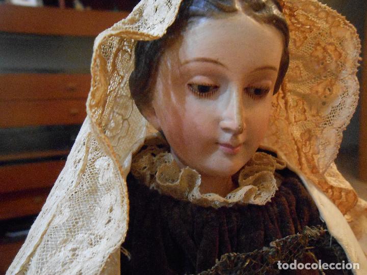 Arte: Virgen del Carmen con Niño Jesús de Cap i pota - Foto 18 - 113435547