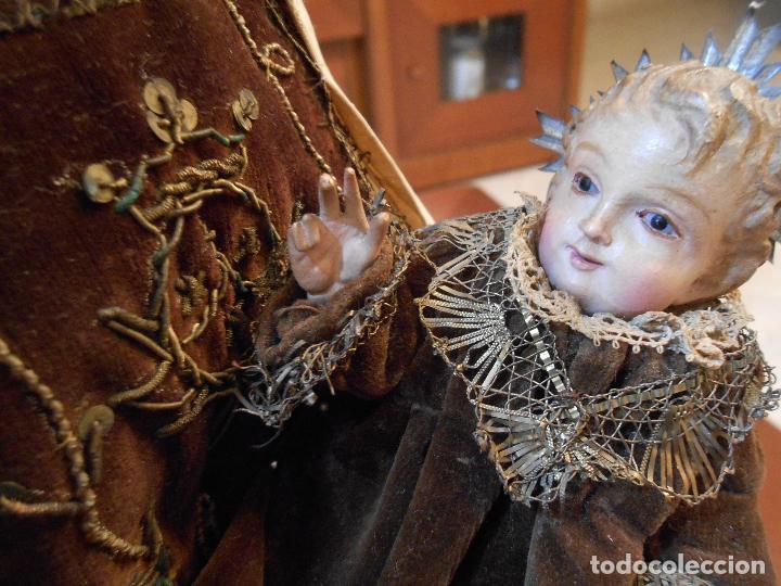 Arte: Virgen del Carmen con Niño Jesús de Cap i pota - Foto 19 - 113435547