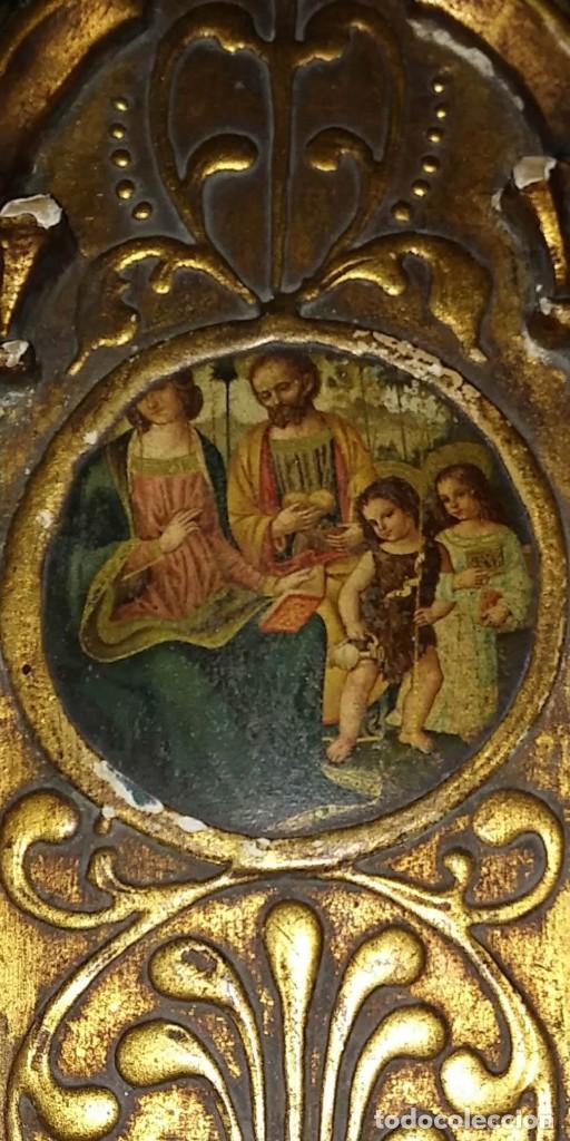 Arte: Retablo 24.5 cm x 14 cm - Foto 2 - 113926619