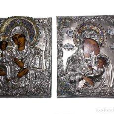 Arte: ICONO RELIGIOSO POLACO VINTAGE 2 ICONOS. Lote 114007987