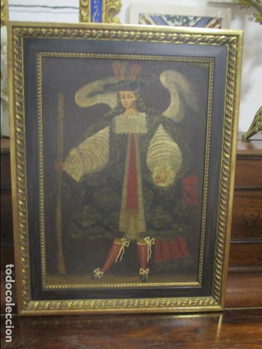 ANTIGUA PINTURA CUSQUEÑA (Arte - Arte Religioso - Pintura Religiosa - Oleo)