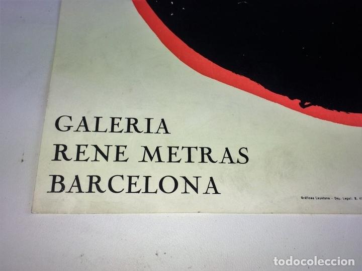 Arte: CARTEL EXPOSICIÓN BECHTOLD. IMPRESIÓN COLOR. GALERIA RENE MATRAS. ESPAÑA. 1965 - Foto 6 - 114361963