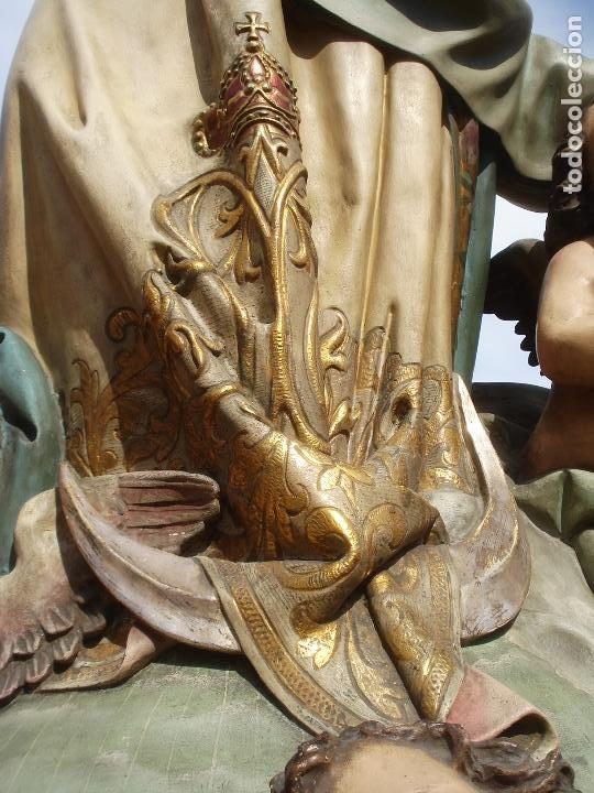 Arte: VIRGEN INMACULADA CONCEPCIÓN ALTAR MAYOR GRANDES MEDIDAS MONUMENTAL - Foto 3 - 145067973