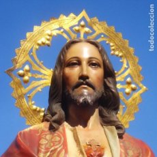 Arte: INSTITUTO CRISTIANO DE ARTES DECORATIVAS DOMINGO PERIS ESCULTOR GRANDES MEDIDAS 1M78CM. Lote 114551115
