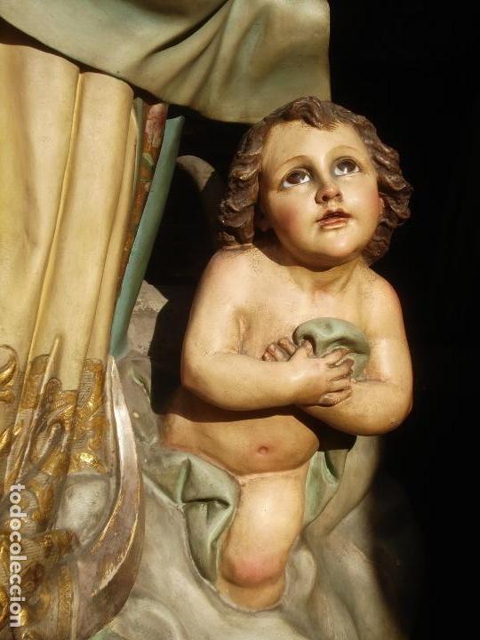 Arte: VIRGEN INMACULADA CONCEPCIÓN ALTAR MAYOR GRANDES MEDIDAS MONUMENTAL - Foto 9 - 145067973