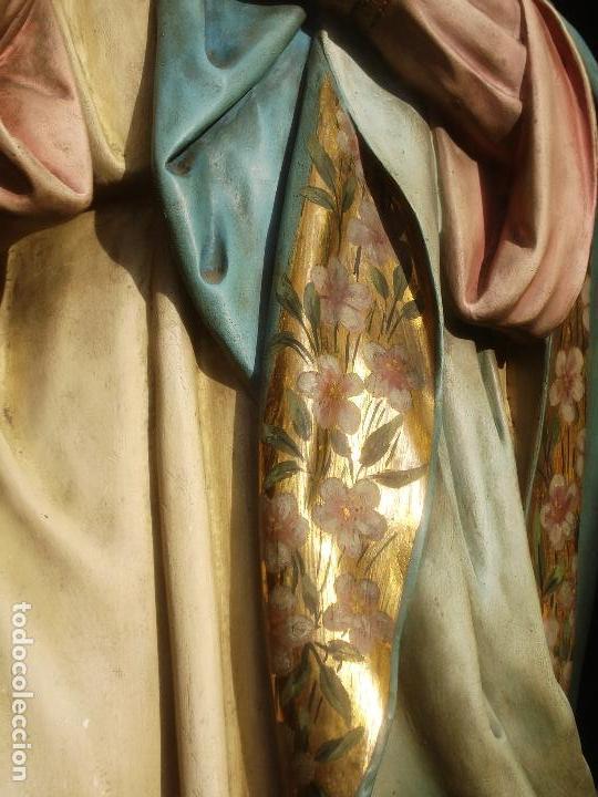 Arte: VIRGEN INMACULADA CONCEPCIÓN ALTAR MAYOR GRANDES MEDIDAS MONUMENTAL - Foto 12 - 145067973
