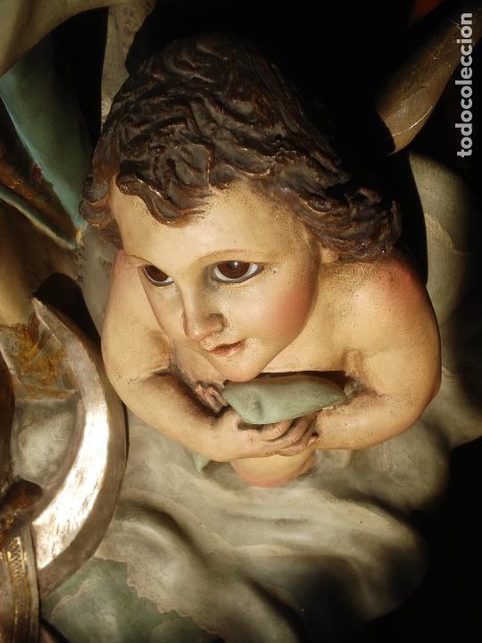 Arte: VIRGEN INMACULADA CONCEPCIÓN ALTAR MAYOR GRANDES MEDIDAS MONUMENTAL - Foto 18 - 145067973