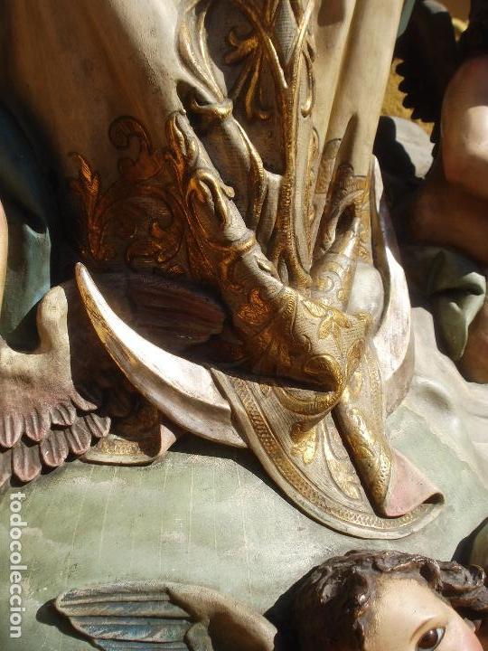 Arte: VIRGEN INMACULADA CONCEPCIÓN ALTAR MAYOR GRANDES MEDIDAS MONUMENTAL - Foto 26 - 145067973