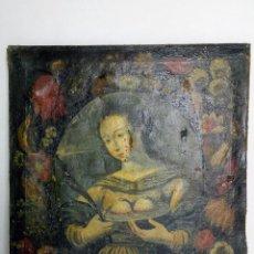 Arte: SANTA ÁGUEDA DE CATANIA, SIGLO XVI - XVII. Lote 114746575