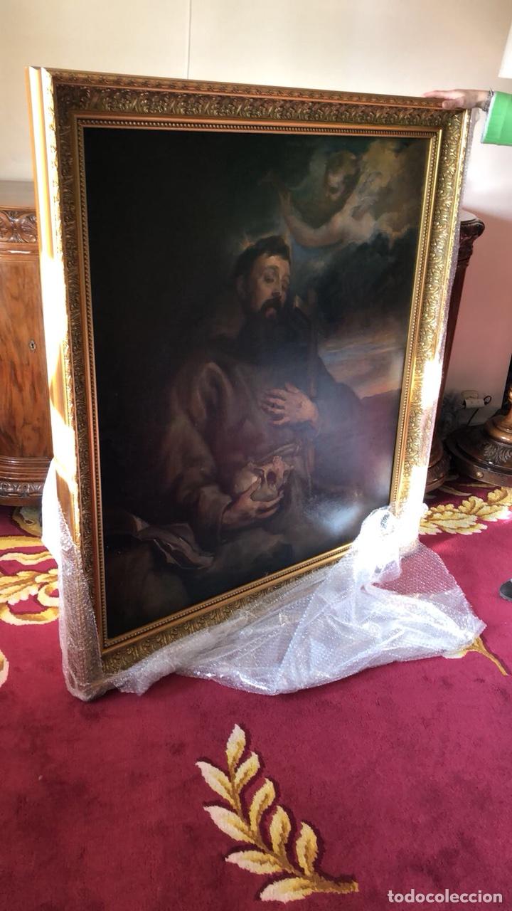 OLEO DE SAN FRANCISCO (Arte - Arte Religioso - Pintura Religiosa - Oleo)