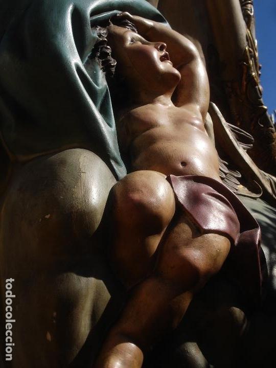 Arte: VIRGEN INMACULADA CONCEPCIÓN ALTAR MAYOR GRANDES MEDIDAS MONUMENTAL - Foto 30 - 145067973