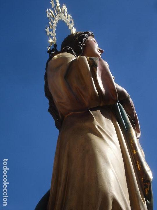 Arte: VIRGEN INMACULADA CONCEPCIÓN ALTAR MAYOR GRANDES MEDIDAS MONUMENTAL - Foto 33 - 145067973