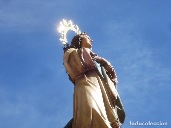 Arte: VIRGEN INMACULADA CONCEPCIÓN ALTAR MAYOR GRANDES MEDIDAS MONUMENTAL - Foto 38 - 145067973