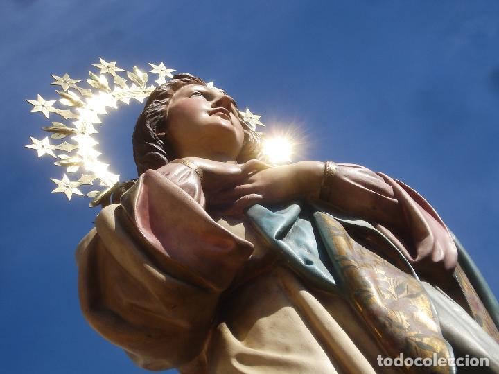 Arte: VIRGEN INMACULADA CONCEPCIÓN ALTAR MAYOR GRANDES MEDIDAS MONUMENTAL - Foto 44 - 145067973
