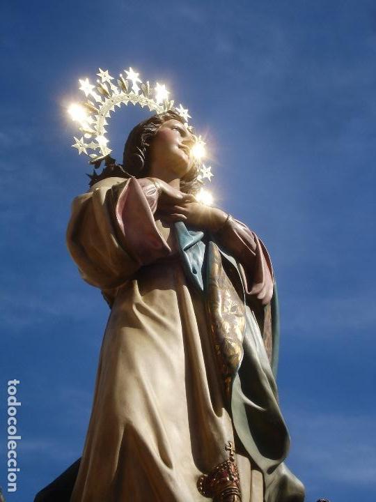 Arte: VIRGEN INMACULADA CONCEPCIÓN ALTAR MAYOR GRANDES MEDIDAS MONUMENTAL - Foto 45 - 145067973