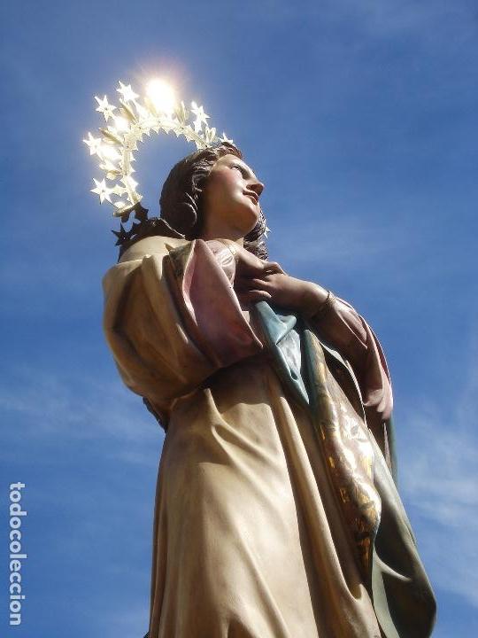 Arte: VIRGEN INMACULADA CONCEPCIÓN ALTAR MAYOR GRANDES MEDIDAS MONUMENTAL - Foto 47 - 145067973