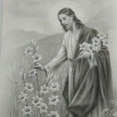 Arte: DIBUJO ORIGINAL DE JESUS DEL ILUSTRADOR ANTONIO COLLINO A. KOLLIN ITALIA MILAN CARTELISTA. Lote 115222071