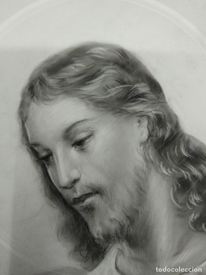 Arte: DIBUJO ORIGINAL DE JESUS DEL ILUSTRADOR ANTONIO COLLINO A. KOLLIN ITALIA MILAN CARTELISTA - Foto 4 - 115222071
