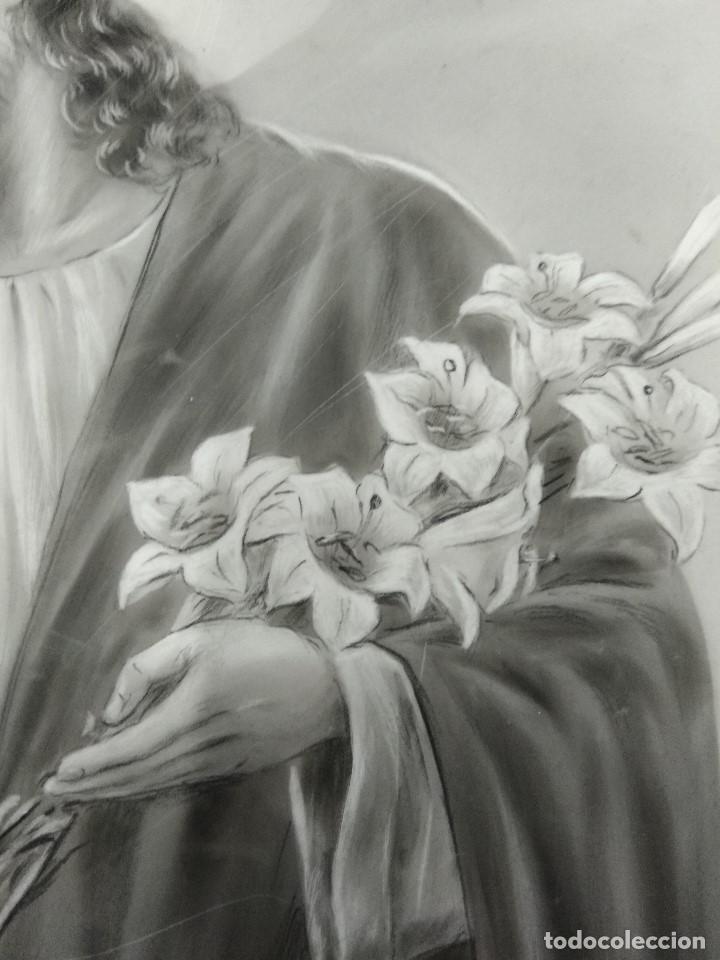 Arte: DIBUJO ORIGINAL DE JESUS DEL ILUSTRADOR ANTONIO COLLINO A. KOLLIN ITALIA MILAN CARTELISTA - Foto 5 - 115222071