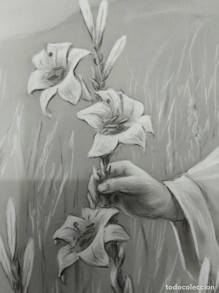 Arte: DIBUJO ORIGINAL DE JESUS DEL ILUSTRADOR ANTONIO COLLINO A. KOLLIN ITALIA MILAN CARTELISTA - Foto 6 - 115222071