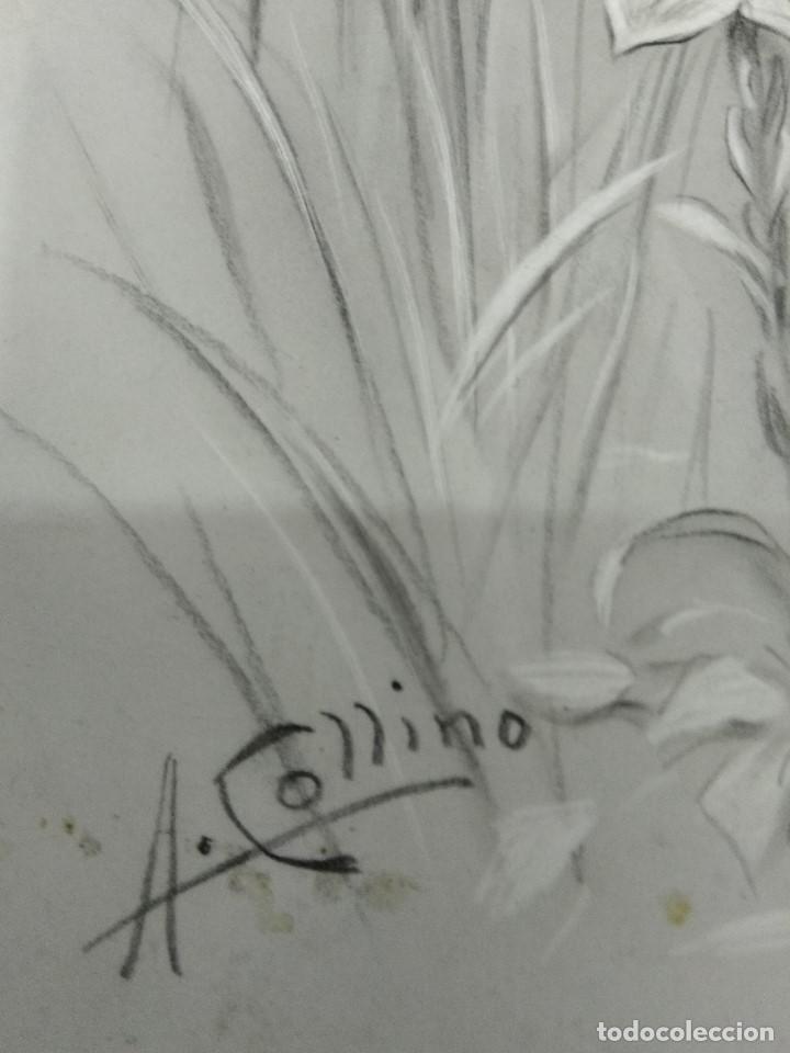 Arte: DIBUJO ORIGINAL DE JESUS DEL ILUSTRADOR ANTONIO COLLINO A. KOLLIN ITALIA MILAN CARTELISTA - Foto 8 - 115222071