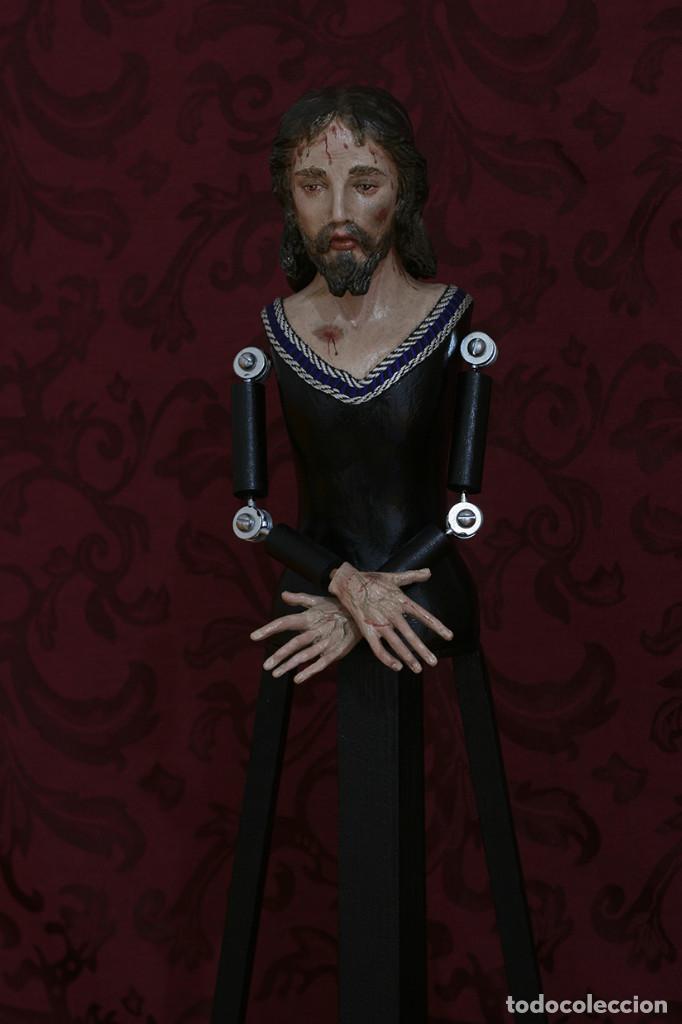 Arte: Precioso cristo cautivo de 60 ctms de altura para vestir - Foto 2 - 115421315