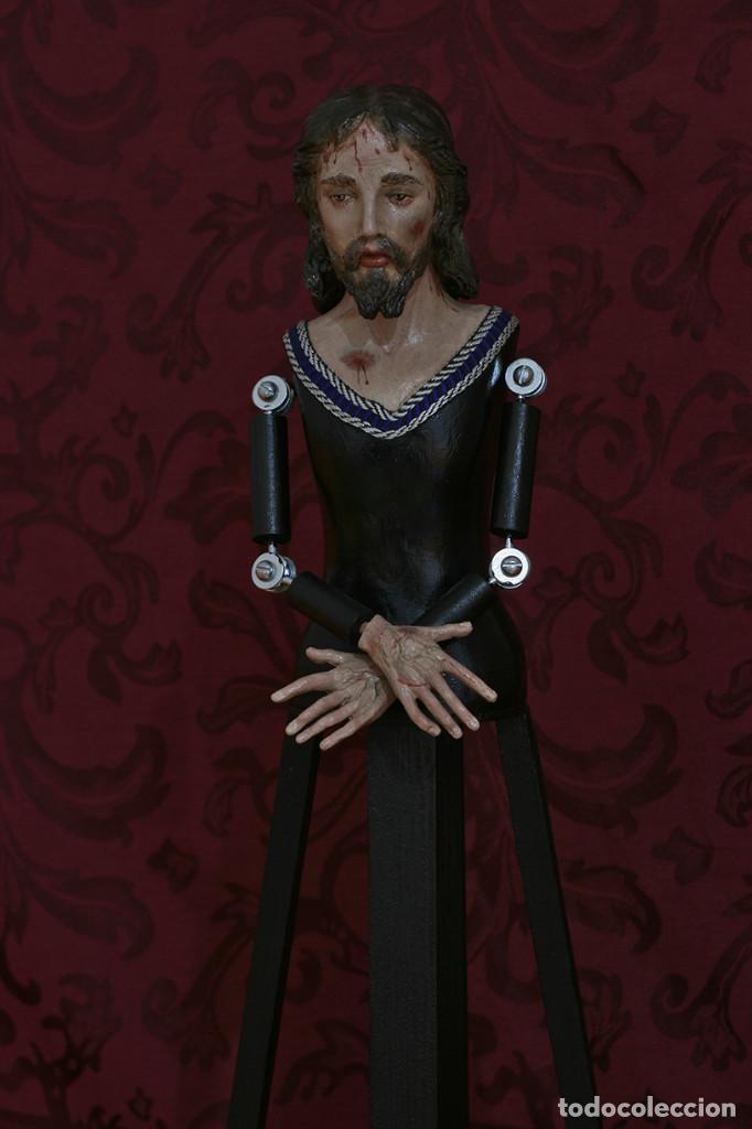 Arte: Precioso cristo cautivo de 60 ctms de altura para vestir - Foto 11 - 115421315