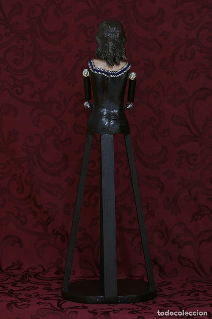 Arte: Precioso cristo cautivo de 60 ctms de altura para vestir - Foto 12 - 115421315