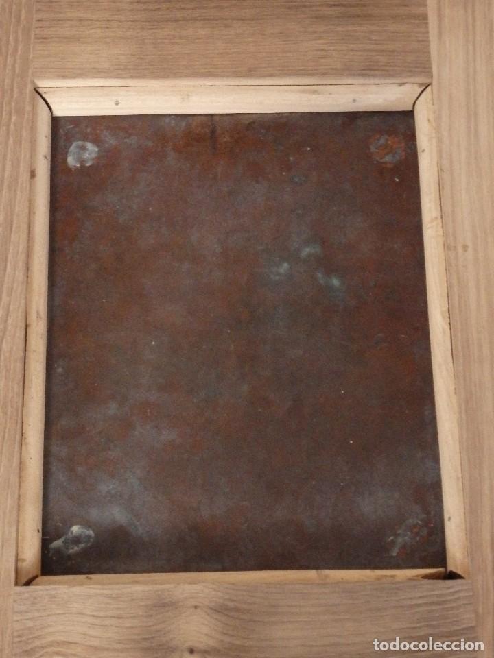 Arte: Ecce Homo. Oleo sobre cobre de la escuela italiana del siglo XVI. Medidas de 27 x 19 cm. - Foto 16 - 115527943