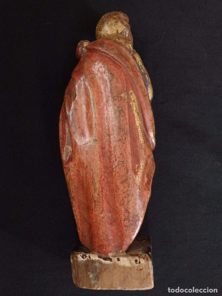 Arte: Calvario en madera policromada y dorada. Siglo XVII. - Foto 18 - 115625335