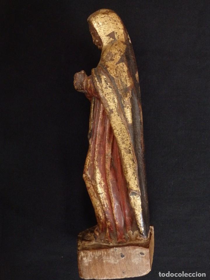 Arte: Calvario en madera policromada y dorada. Siglo XVII. - Foto 20 - 115625335