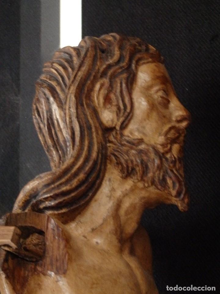 Arte: Calvario en madera policromada y dorada. Siglo XVII. - Foto 40 - 115625335