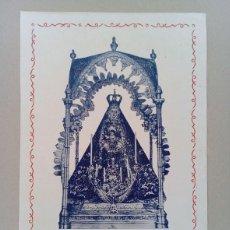 Arte: CORDOBA, CABRA. NUESTRA SEÑORA DE LA SIERRA. Lote 115895679