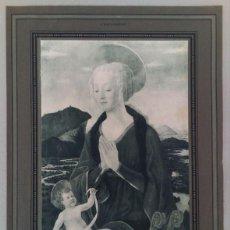 Arte: BELLA LAMINA IMPRESA Y ADERIDA A PASPARTU, DE LA REVISTA LA ILUSTRACION. Lote 115904719