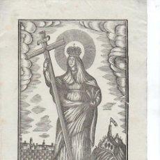 Arte: SANTA ELENA - GRABADO SIN FECHA - MANRESA, POR PABLO ROCA. Lote 116233331
