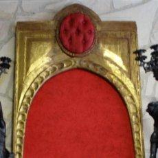 Arte: ESTILO HORNACINA DE RETABLO- EN DE PAN DE ORO DEL SIGLO XVII.. Lote 116328343