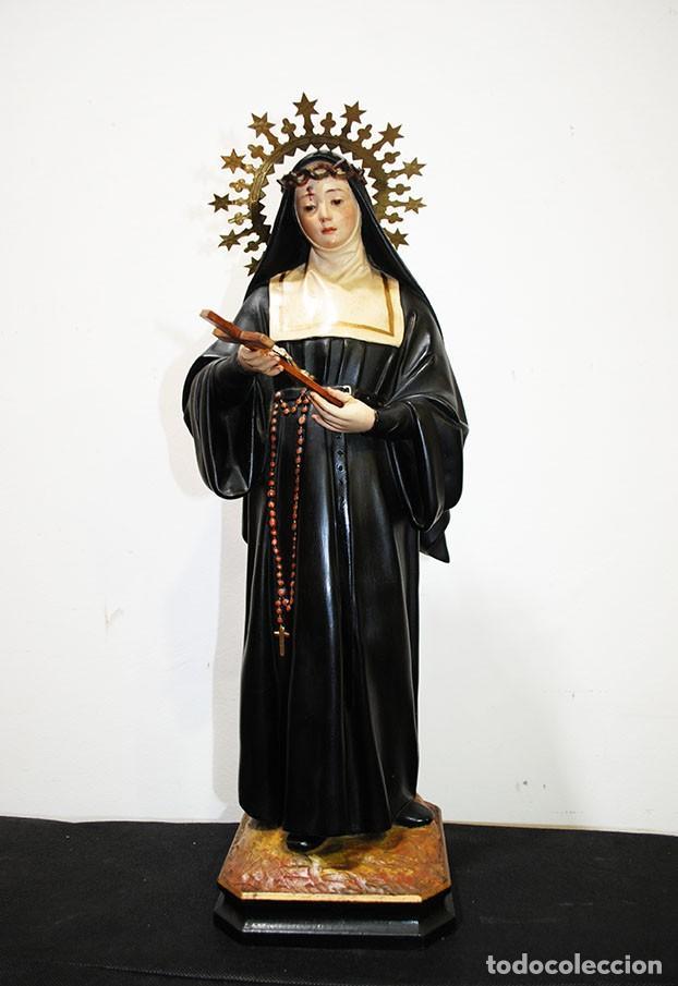 FIGURA RELIGIOSA OLOT - SANTA RITA (Arte - Arte Religioso - Escultura)