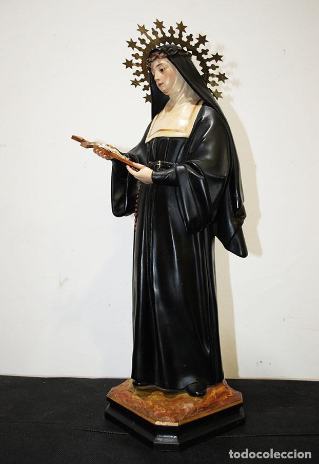 Arte: FIGURA RELIGIOSA OLOT - SANTA RITA - Foto 5 - 139194101