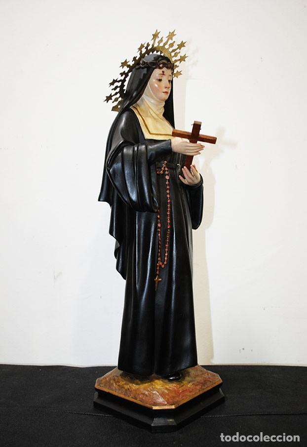 Arte: FIGURA RELIGIOSA OLOT - SANTA RITA - Foto 6 - 139194101