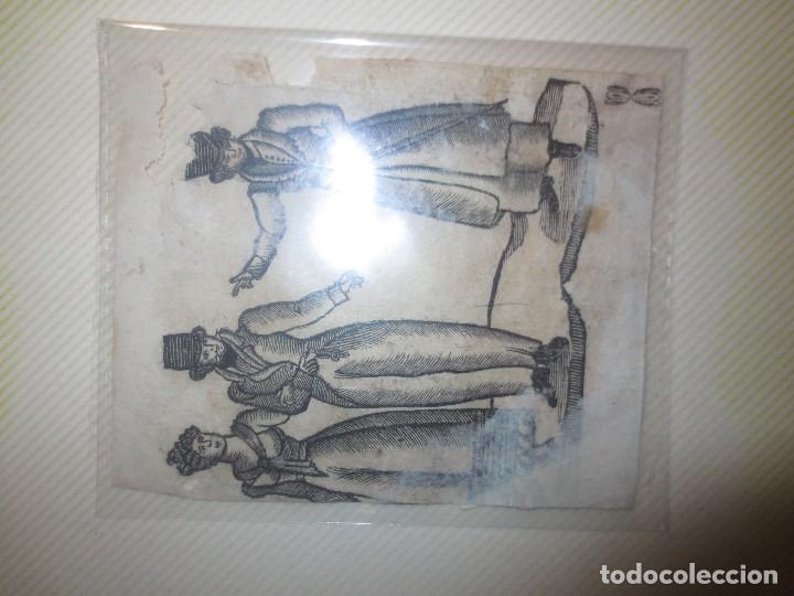 Arte: ANTIGUO GRABADO SIGLO XVIII DETERIORADO - Foto 2 - 116396855