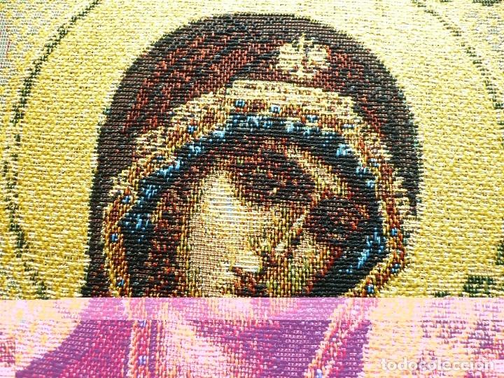 tapiz de tejido moderno. con hilo dorado. 25x32 - Comprar Iconos ...