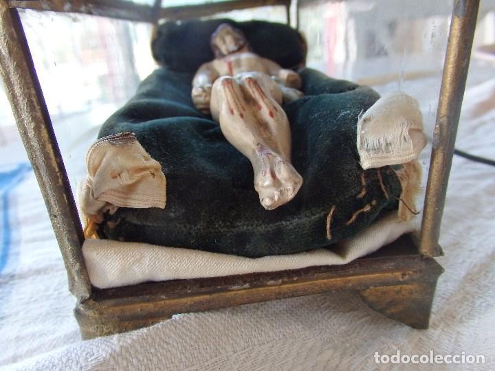 Arte: Urna con Cristo yacente. Siglo XIX - Foto 3 - 116523131