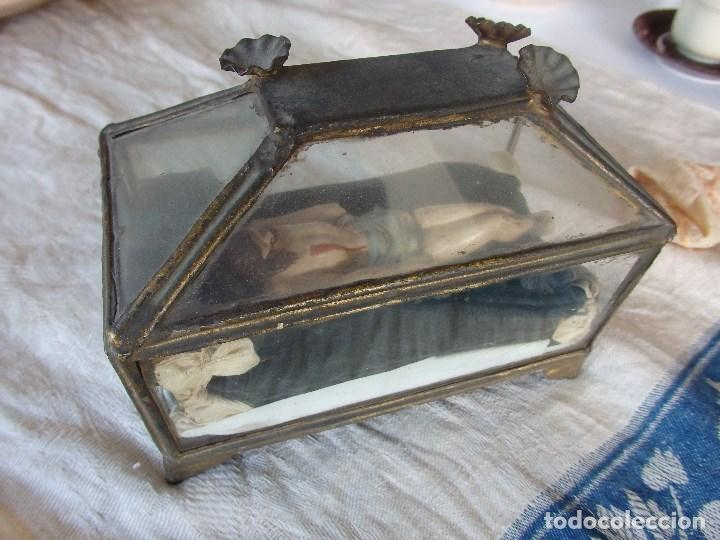 Arte: Urna con Cristo yacente. Siglo XIX - Foto 6 - 116523131