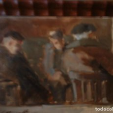 Arte: LA TERTULIA POR JAUME QUERALT. Lote 116697191