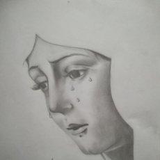 Arte: DIBUJO GRAFITO ESPERANZA MACARENA. Lote 116933791