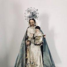 Arte: VIRGEN DE GLORIA CAP I POTA, VIRGEN DE MADERA, TALLA EN MADERA. Lote 68569485